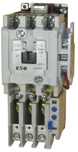 Eaton An16dno 27 Amp Nema Size 1 Starter With An Ac Rated Coil