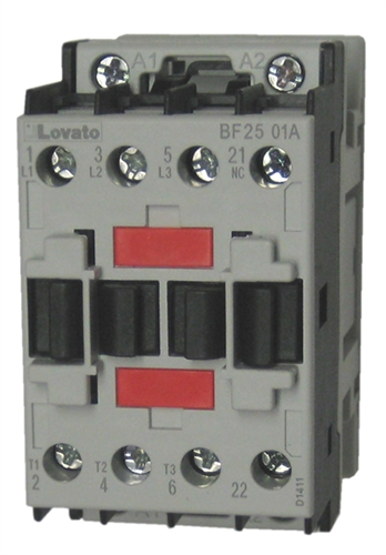 Lovato bf2501a 3 pole iec rated contactor with 1 nc base contact view larger photo email asfbconference2016 Choice Image