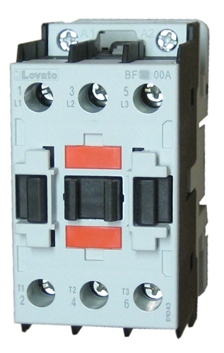 Lovato bf3800a 3 pole 38 amp iec rated contactor with an ac rated coil view larger photo email asfbconference2016 Choice Image