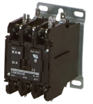 Eaton C25DND225A 25 AMP 2-pole Definite Purpose Contactor