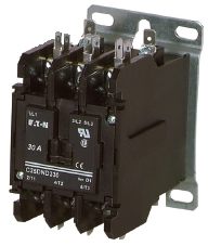 Eaton C25DND330 30 AMP 3-pole Definite Purpose Contactor