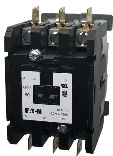 Eaton Cutler Hammer C25FNF360 60 Amp Contactor