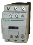 Schneider Electric CAD50 5 pole control relay