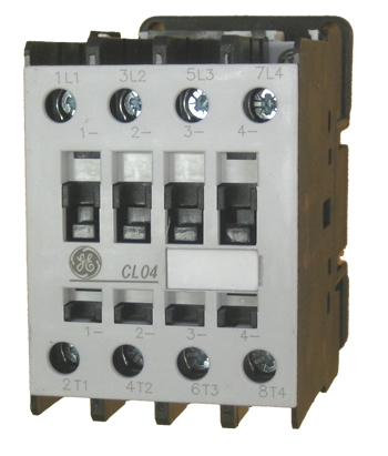 ge cl04a400m 4 pole ul/ce iec rated contactor