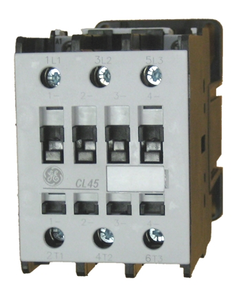 ge contactor wiring 460v 3 phase ge cl45d300m contactor rated at 25 h p   480v with a dc coil  ge cl45d300m contactor rated at 25 h p