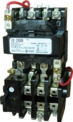 GE CR306B002 NEMA Starter, 18 AMP, 3 Pole with a 115-120 volt AC coil | Ge Motor Starter Cr306 Wiring Diagram |  | IMC-Direct