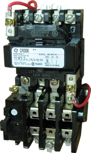 Ge cr306c004 nema starter 27 amp 3 pole with a 460 480 volt ac coil view larger photo email swarovskicordoba Choice Image