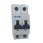 Moeller FAZ two pole 10 AMP circuit breaker