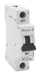Moeller FAZ one pole 6 AMP circuit breaker