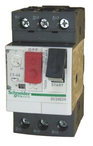 Schneider Electric Gv2me08 Schneider Electric 4 Amp