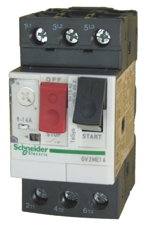 Gv2me16 Schneider Electric Manual Motor Starter Circuit
