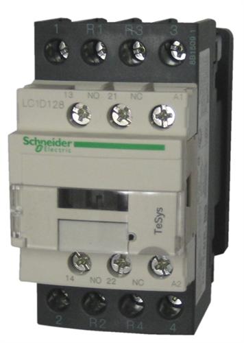 LC1D128 Nema Pole Contactor Wiring Diagram on