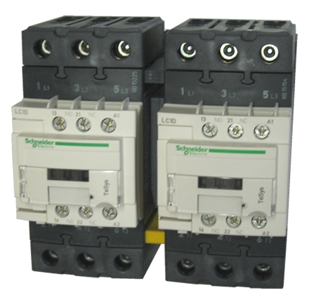 Lc2d50ag7 Schneider Electric 3 Pole 50 Amp Reversing Contactor With