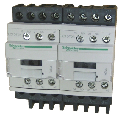 lc2dt25p7 schneider electric 12 amp 3 pole iec contactor with a 230v50 60hz ac coil