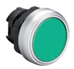 Lovato LPCQ103 Green Pushbutton