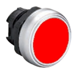 Lovato LPCQ104 Red Pushbutton