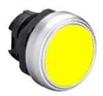 Lovato LPCQ105 Yellow Pushbutton