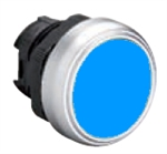Lovato LPCQ106 Blue Pushbutton