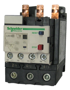 LRD332 Schneider Electric Telemecanique Overload Relay adjustable