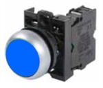 Eaton M22-D-B-K01 Blue Pushbutton