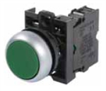 Eaton M22-D-G-K01 Green Pushbutton