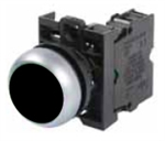 Eaton M22-D-S-K01 Black Pushbutton