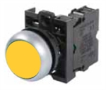Eaton M22-D-Y-K01 Yellow Pushbutton
