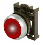Eaton M22-DL-R Red Illuminated Pushbutton