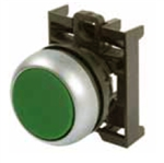 Eaton M22-DR-G Green Maintained Pushbutton