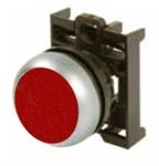 Eaton M22-DR-R Red Maintained Pushbutton