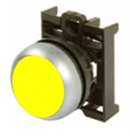Eaton M22-DR-Y Yellow Maintained Pushbutton