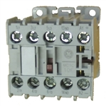 GE MC1C 10E 3 pole miniature contactor