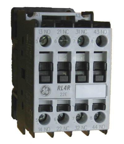 ge rl4ra022t control relay rated at 10 amps with 2 n o 2 n c  view larger photo email