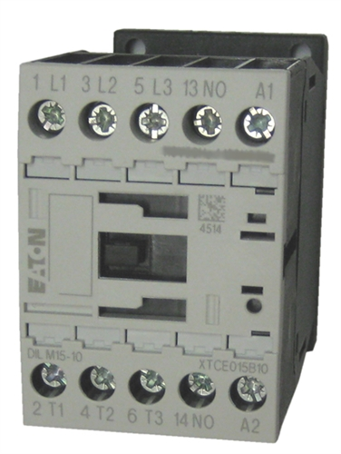 Xtce015b10 Eaton Contactor Rated At 15 Amps With An Ac Or