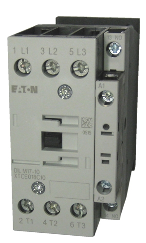 Xtce018c10 Eaton Contactor Rated At 18 Amps With An Ac Or