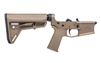 Aero Precision M4E1 Complete Lower Receiver - MOE SL Grip & SL Carbine Stock - FDE