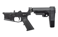 Aero Precision M4E1 Pistol Complete Lower Receiver with SBA3 Brace