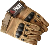 Assault Tactical Hard Knuckle Gloves