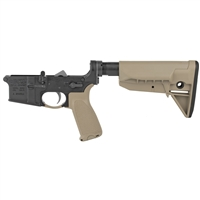 BCM Lower Receiver Group w/ Gunfighter Furniture FDE