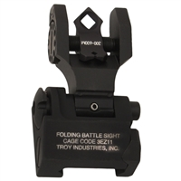 Troy Industries DOA Rear Battle Sight Black - Flip