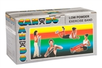 Cando Low Powder Exercise Band 6 Yard Silver XX-Heavy
