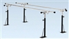Bailey Basics Floor Mounted Parallel Bars 10'