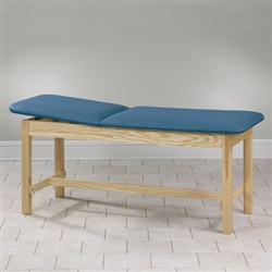Clinton Treatment Table with H-Brace Lift Back 30