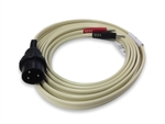 Amphenol Plug to .080 Pin Lead Wire Black/Red