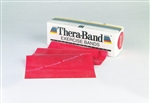 Thera-Band 6 Yard Roll, Red Medium