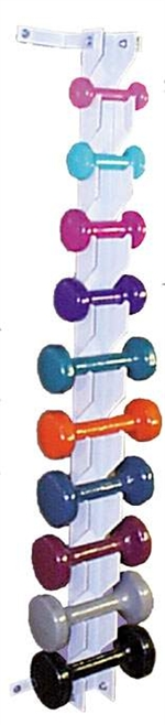 Ideal Wall Mounted Dumbbell Weight Rack