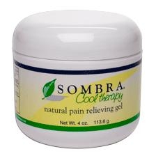Sombra Cool Therapy Pain Relieving Gel 4 oz Jar