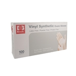 Basic Medical Vinyl Exam Gloves 100/Pack - Large