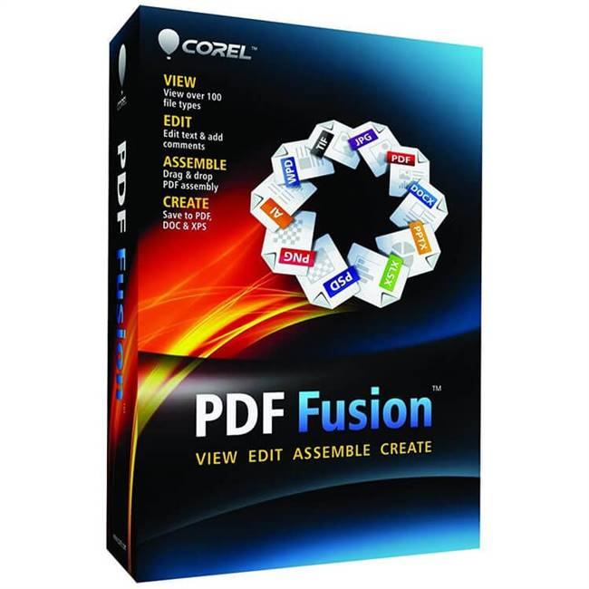 Corel PDF Fusion 1 License EN  -Government -ESD Win