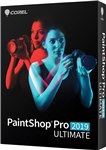Corel PaintShop Pro 2019 Ultimate Commercial Win ESD English/French/Spanish - ESD